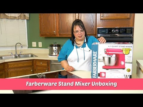 Farberware Stand Mixer Unboxing ~ Stand Mixer Review ~ Amy Learns to Cook