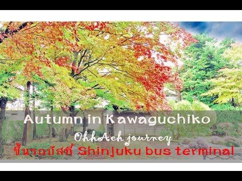 OhhAeh journey AUTUMN in KAWAGUCHIKO: การเดินทาง Shinjuku Express Bus Terminal