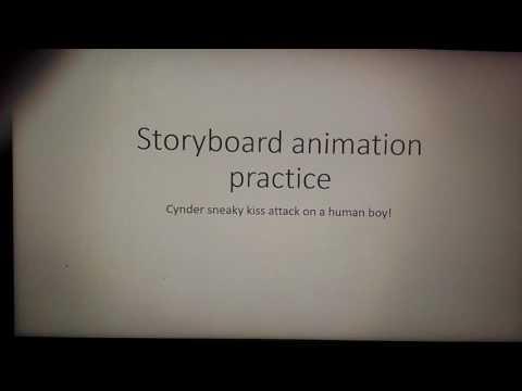 Microsoft word funny storyboard practice