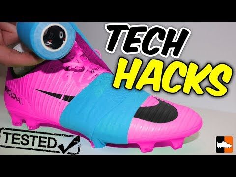 Football Boot Tech Hacks Tested! DIY Tricks