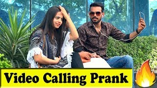 Video Calling with Girlfriend Prank | Bhasad News | Pranks in India