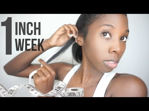 Grow Your Hair 1 Inch in 7 days! 1 Week!? Inversion Method | TESTED!