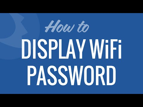 Display Wifi Password