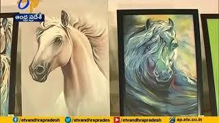 Nara Bhuvaneswari opens Art Exhibition at | NTR Trust | Hyderabad