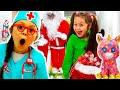 Kids Video With Santa Claus Dans Five Little Monkeys Nursery Rhymes By Chiki Piki