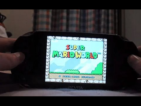 how get download and use the snes emulator for the vita