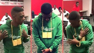 """Boosie Does BooPac """"Me Myself and I"""" Dance In Houston With Trae Tha Truth """"Louisiana and Texas Vibe"""""""