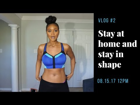 Mommy Vlogs | Staying in Shape as a Stay at Home Mom