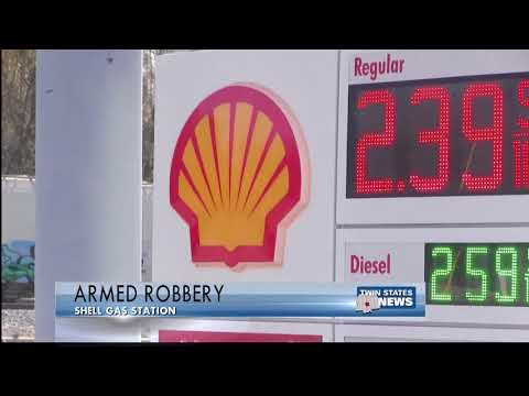 Armed Robbery @ Shell Gas Station