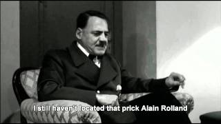 Hitler's reaction to Shane Williams retirement