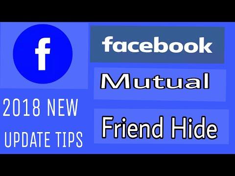 Facebook Mutual Friends Hide Update New Working Tips.