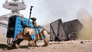 Teedo Ties a TIE - LEGO Star Wars - Mini Movie