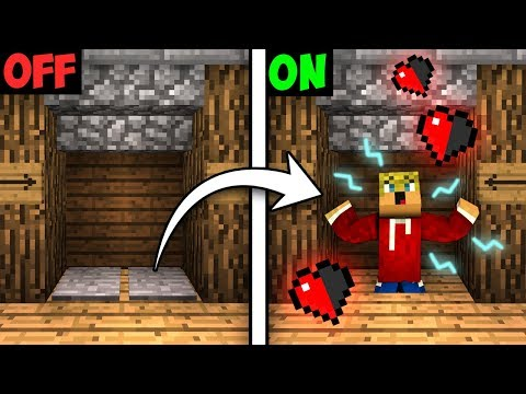 DOORWAY SUFFOCATION TRAP! - Minecraft Tutorial