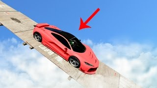 RACE DOWN THE TIGHTROPE AT 200MPH! (GTA 5 Funny Moments)