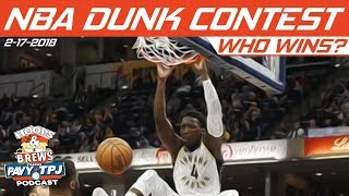 2018 NBA Slam Dunk Contest   Who will win ?   Hoops & Brews