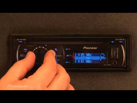 Pioneer Lab: Radio Station Presets on CD Players
