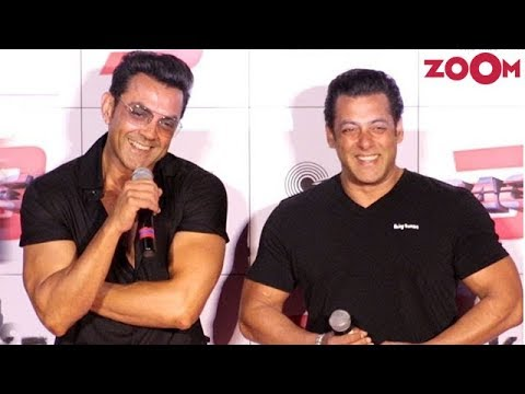 Salman Khan Recommends Bobby Deol's Name For A Solo Hero Film