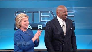 Secretary Clinton: I concede you have more experience || STEVE HARVEY