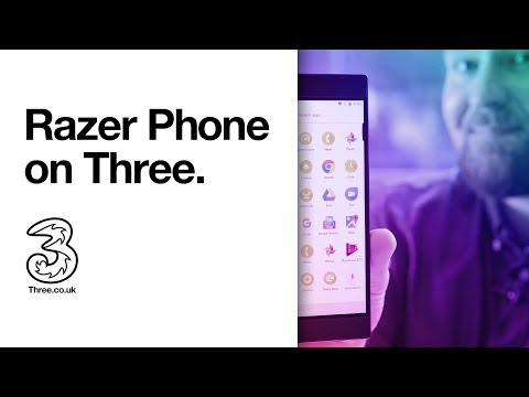 Razer Phone. Only on Three   First Look; Favourite Features   Three (2017)