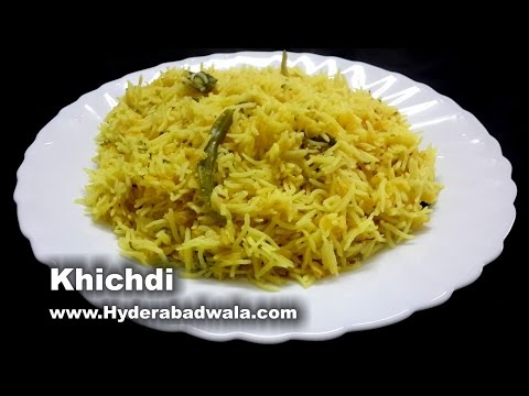 Khichdi with Masoor Dal Recipe Video – How to make Hyderabadi Khichdi – Easy and Simple (English)