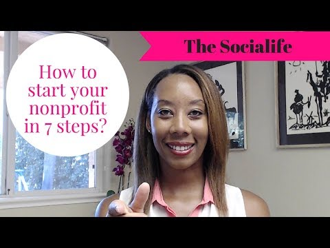 Start your own nonprofit in 7 steps!