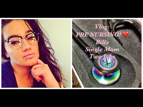 VLOG: TWO JOB AS A SINGLE MOM UPDATE | BILLS, BIRTH CONTROL & OH AND IM A PRE NURSING STUDENT!!!