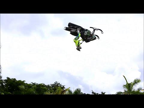 Snowmobile Backflip in Florida | Heath Frisby