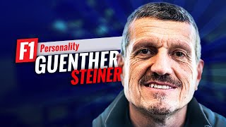 F1'S MOST COLOURFUL CHARACTER, GUENTHER STEINER