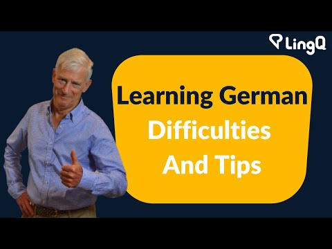 Learning German - Difficulties and Tips