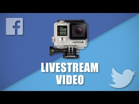 How to Livestream on Facebook and Twitter using GoPro