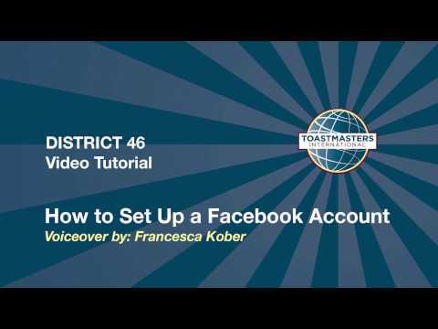 How to Setup a Club Facebook Account