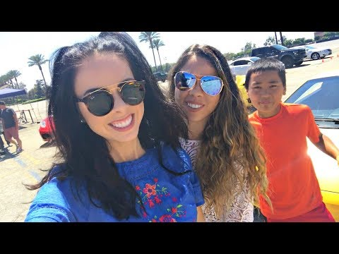 RACING EXOTIC CARS WITH OUR FAMILY