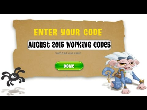 Animal Jam | August 2015 Codes 6,100 Gems