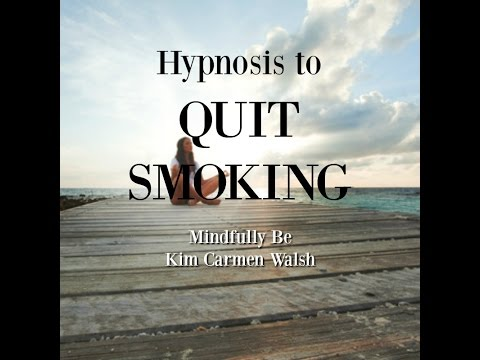 Hypnosis to quit smoking mindfully