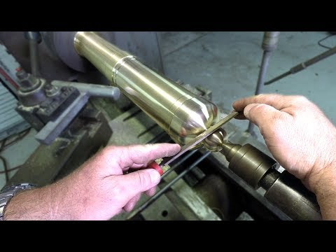 Building an historic brass cannon Ep 3 - drilling, milling and boring a trunnion ring