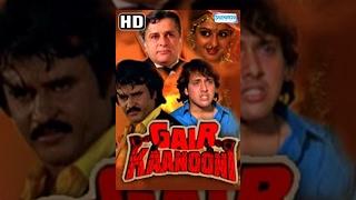 Gair Kaanooni {HD} Hindi Full Movies - Govinda, Sridevi, Rajinikanth - Hit Film - With Eng Subtitles