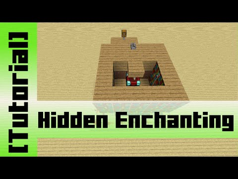 Hidden Enchantment Table [Tutorial]