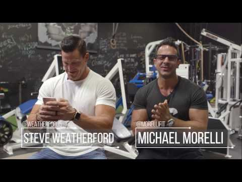 Tips for BIGGER ARMS w/ NFL SuperStar and Super Bowl Champion Steve Weatherford