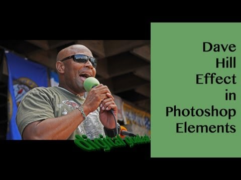 Learn Photoshop Elements - Dave Hill HDR effect