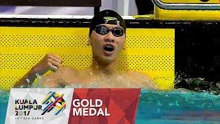 Swimming Mens 400m Individual Medley Final Games Record 29th SEA Games 2017