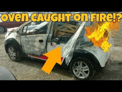 I Won't Buy This Salvage Domino's DXP Car *Caught on Fire*