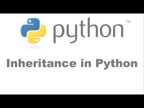Inheritance in Python [HD 1080p]