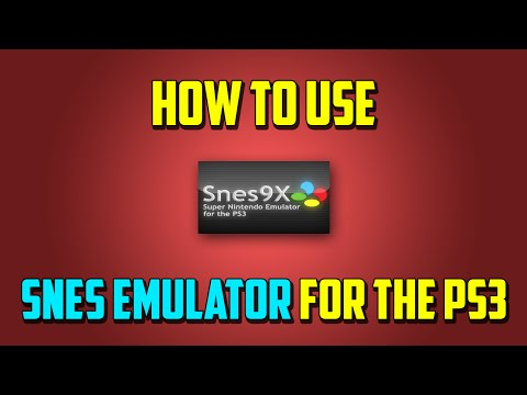 How to Use SNES Emulator for PS3! (HD)