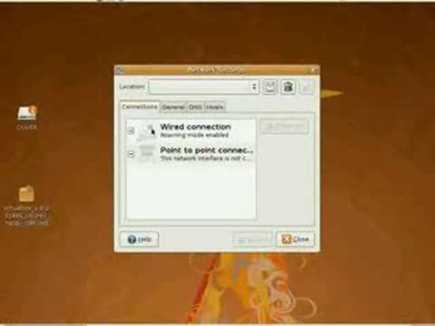 Set ip address on Linux