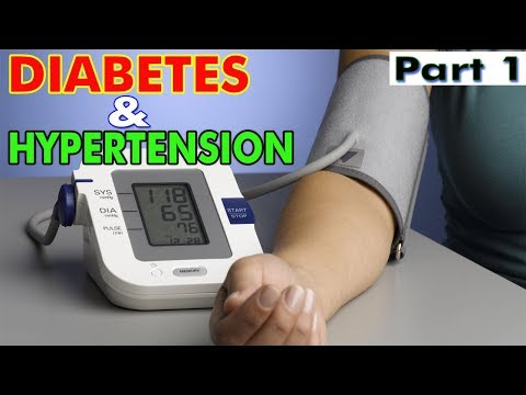 Diabetes and Hypertension Medication - Part 1