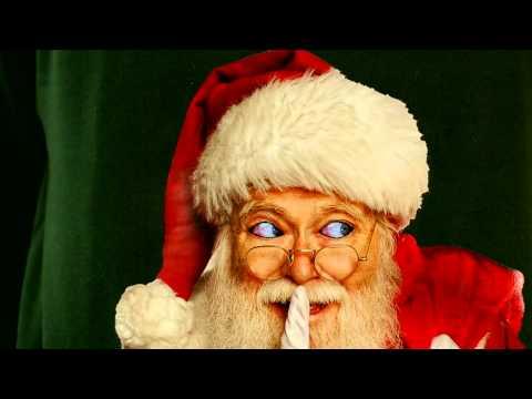 Creeping Santa Ugly Christmas Sweater- Digital Dudz Christmas 2013