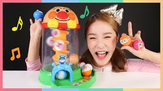 凱利的日本面包超人塔樓玩具遊戲  |  凱利和玩具朋友們   CarrieAndToys