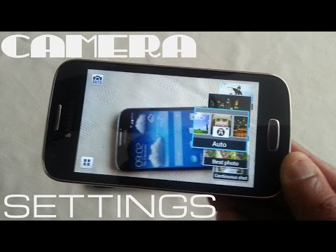 Samsung Galaxy Ace 3 CAMERA SETTINGS REVIEW