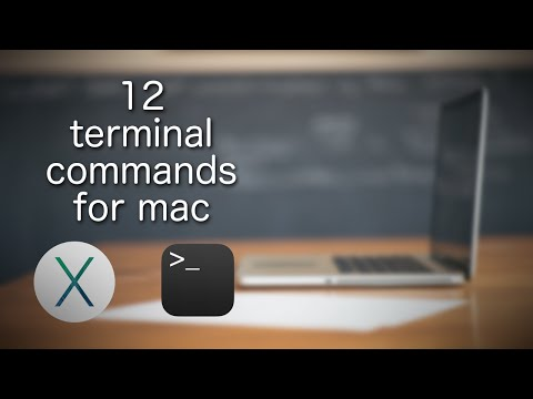 Terminal Commands for Mac