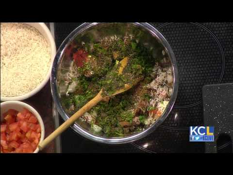 Cafe Cedar teaches viewers how to make warak aenab